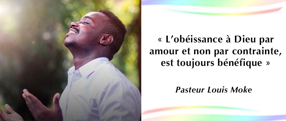Derrière l'obéissance se cache une gloire.